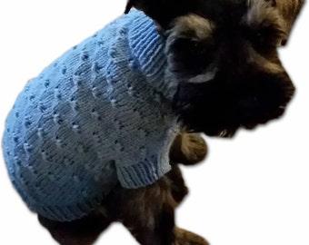 Dot Dog Sweater Pattern