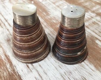 Seashell Salt and Pepper Shaker Set