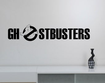 Ghostbusters Wall Decal Vinyl Sticker Horror Art Decorations for Home Housewares Teen Kids Living Room Bedroom Movie Decor ghs7
