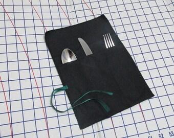 Anti-Tarnish Silver Cloth - Flatware Pouch