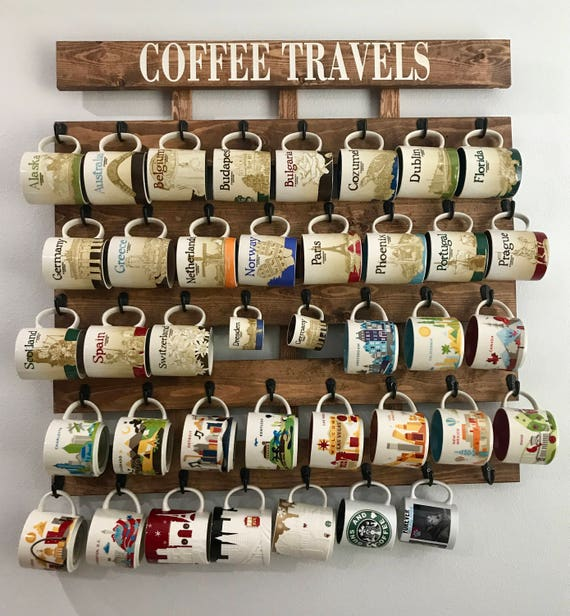 Starbucks Been There Coffee Cup Holder Coffee Cup Rack 40 To