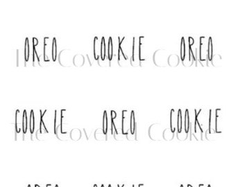 Rae Dunn-Inspired Chocolate Covered Cookies, Custom Treats for all Occasions