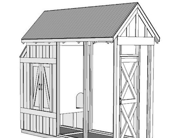 Chicken Coop (Spring Coop) Easy to Follow Plans