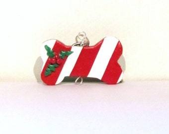 Christmas Dog Biscuit Collar Charm