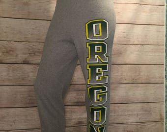 Vintage NCAA University of Oregon Ducks Sweatpants