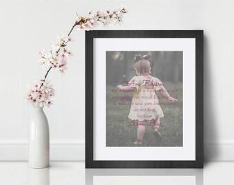 Custom Girl Affirmation Print