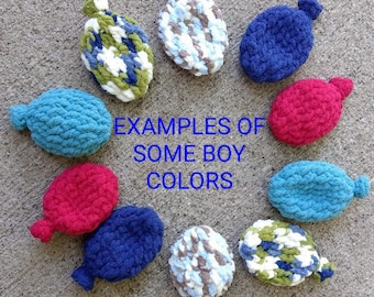 Set of 10 Environmentally Safe Reusable Water Balloons Boy and Girl Colors Available