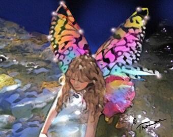 Water Sprite (Fairy Card Line)