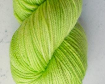 Sparkle Sock Yarn, Lime