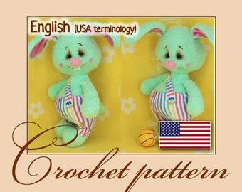 Egorka - Amigurumi Crochet Doll Pattern PDF file by Anna Sadovskaya