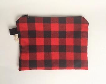 Sale- Clutch - Zipper Bag