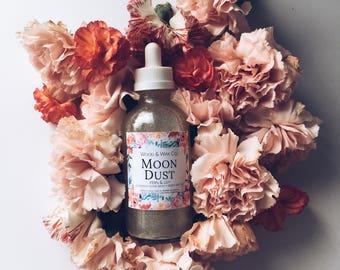 MOON DUST Body Oil | Body Nectar | Shimmering Body Oil | Shimmering Bath + Body Nectar | Diamond Bath + Body Oil