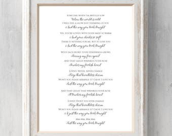First look gift etsy frank sinatra print the way you look tonight gift song lyrics some stopboris Images