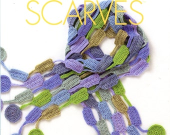 Crocheted Scarves from Vogue Knitting - On the Go! Series