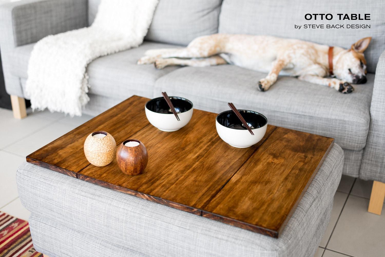 otto ottoman table top. Black Bedroom Furniture Sets. Home Design Ideas