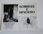 vintage - movie poster - Shadows and Fog - Woody Allen