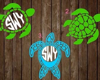 Sea Turtle Monograms