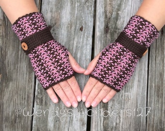 Knit gloves, Fingerless Gloves, Button gloves,  Gloves with button, Wrist Warmers, Hand Warmers, Texting Gloves