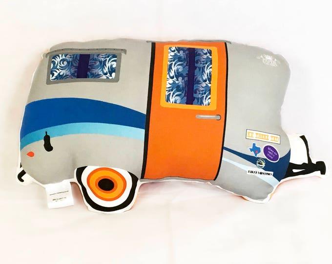 Camper RV Vintage Style Pillow - Mini