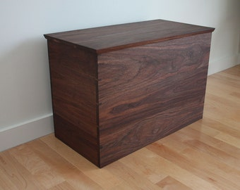 Black Walnut Blanket Chest With Custom Dimensions Gallery