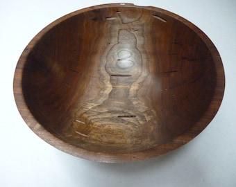 Great Size Walnut Bowl