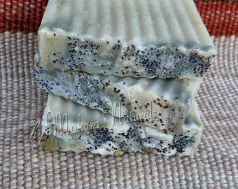 Fresh Day Soap,Makara Naturals,Cold Process Soap, Natural-Handmade,Luxurious Lather,Gentle Cleansing,  Essential Oils, Lye Soap, women,men