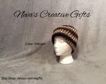 PLATOON with YOUR Choice of Pom Pom  -  Warm, Cozy Winter Hat