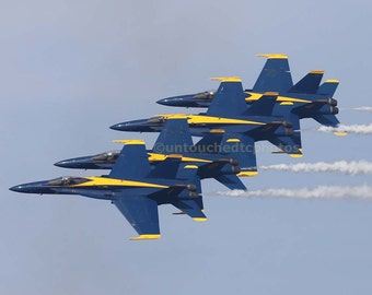 Blue Angels Photograph from San Francisco Fleet Week