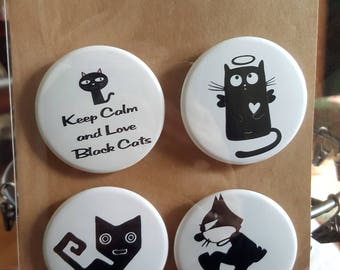 Cat Noir - Pinback Badges