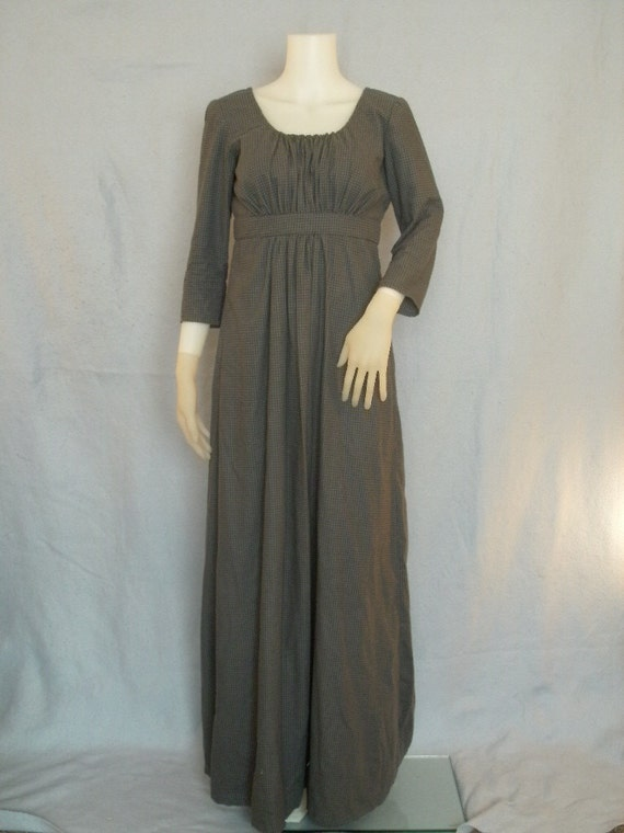 Sense And Sensibility Style Modest Womens Dress Regency