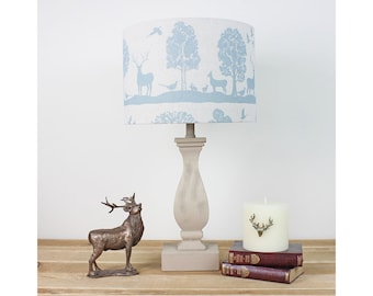 Lampshade etsy cairngorms loch stag country side animal drum lampshade keyboard keysfo Gallery