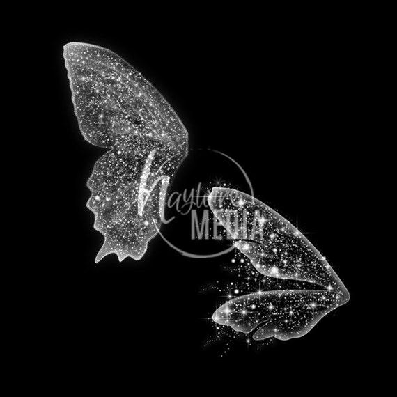 2 transparente PNG schönes Kind Märchen Schmetterling Fee