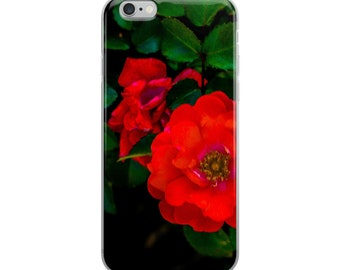 Vibrant Red Flowers | iPhone Case