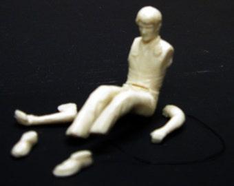1:25 scale model resin Emergency! Squad 51 Paramedic John Gage figure