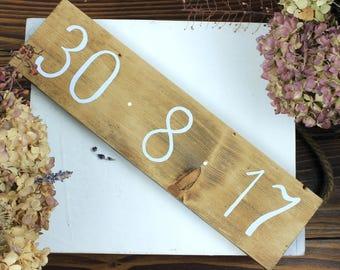 Rustic wood wedding date sign, Wedding welcome sign, Custom wedding date sign, Rustic wood wedding gift, Wedding welcome sign Rustic wedding