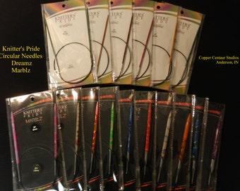 Knitter's Pride Circular Needles:  Dreamz and Marblz