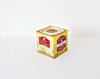 vintage tins ceylon tea/ Kitchen Storage Tin Boxes 90s