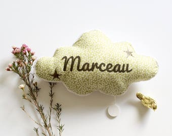 Musical pillow shaped cloud, for baby