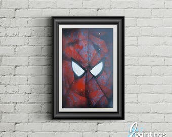spiderman face painting!