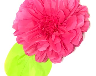 Set of 3 Wedding Decoration / giant tissue paper flower pom poms /birthday party/paper flowers/home decor/ wedding centerpiece / anniversary