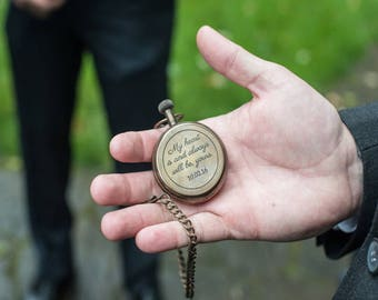 pocket watch, personalized watch, antique watch, custom watch, engraved pocket watch, groomsmen gift, mens gift, wedding gifts, Fathers day