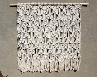 "FREE SHIPPING 40"" Large macrame wall hanging Large tapestry Bohemian wall decor Woven wall hanging Weaving Boho home decor Hippie decor"