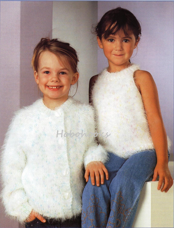 Girls knitting pattern girls mohair cardigan mohair top mohair