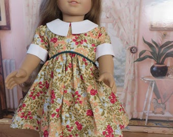 18 Inch Doll Clothes - Empire Waist Dress