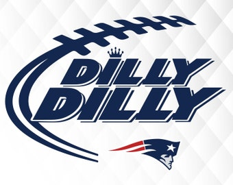 Dilly Dilly New England Patriots svg,dxf,png/Dilly Dilly New England Patriots clipart
