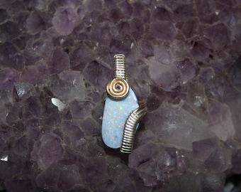 Boulder Opal Pendant