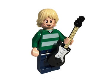 Grunge Rocker Custom MiniFigure genuine LEGO®  parts