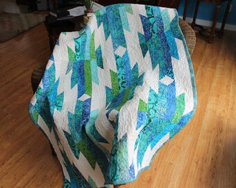 Evening In the Mountains Lap Quilt