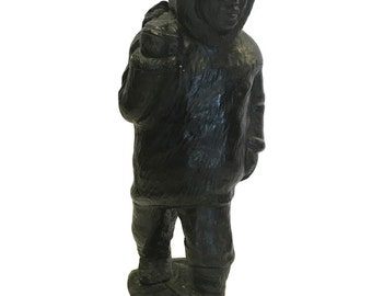 Vintage Eskimo Sculpture