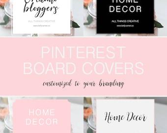 Custom Pinterest Board Covers